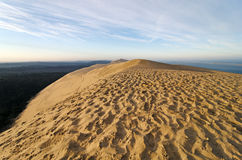 Arcachon basin and Dune of Pyla in france Royalty Free Stock Photos
