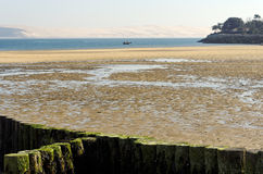 Arcachon bay. Low tide in arcachon bay Royalty Free Stock Photo