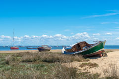 Arcachon Bay, France. Typical boat of the Arcachon Bay called Pinasse Royalty Free Stock Photo