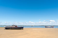 Arcachon Bay, France. Typical view over the bay Royalty Free Stock Photography