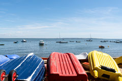 Arcachon Bay, France. Typical view over the bay Stock Photography