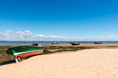 Arcachon Bay, France. Typical view over the bay Stock Photo