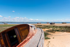 Arcachon Bay, France. Typical view over the bay Royalty Free Stock Images