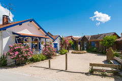 Arcachon Bay, France, village place of L`Herbe, Cap Ferret Stock Photo