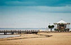 Arcachon Beach Stock Photos