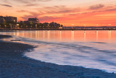 Arcachon beach Stock Images