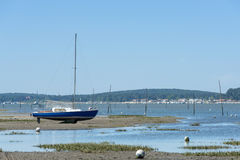 Arcachon-Bucht, Frankreich stockbild