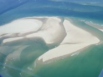 Arcachon in France aerial view of pila dune in arguin. Bassin Arcachon in France aerial view of pila dune in arguin Stock Images