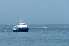 Arcachon, France, cruising ship Royalty Free Stock Images