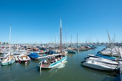 Arcachon, France, la marina photographie stock