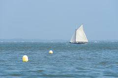 Arcachon, France, sailboat in the bay Stock Photography