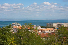 Arcachon. View on the Arcachon Bay, France Stock Photo