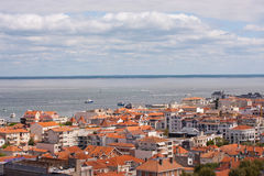 Arcachon. View on the city of Arcachon, France Stock Image