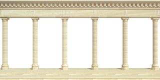 Arcada antiga de mármore da parede do mundo antigo foto de stock royalty free