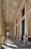 Arcada barroca em Roma Fotografia de Stock