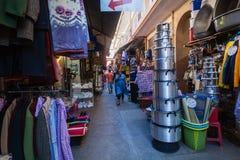 Arcada comercial asiática de las tiendas Imagenes de archivo