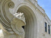 Arcada de la arboleda en Asheville, Carolina del Norte imagen de archivo