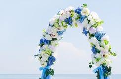 Arcada de la boda Fotografía de archivo libre de regalías