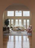 Arcada de la sala de estar Imagen de archivo libre de regalías