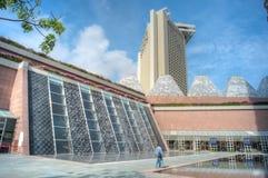 Arcada de las compras de la caminata de los milenios, Singapur Fotografía de archivo libre de regalías