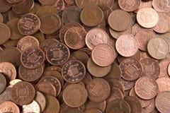 Arcada de moeda de um centavo Foto de Stock