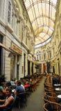 Arcada de Pasajul Macca-Vilacrosse, em Bucareste, Romênia Fotografia de Stock