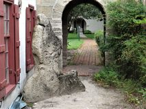 Arcada de pedra velha, St Augustine foto de stock royalty free