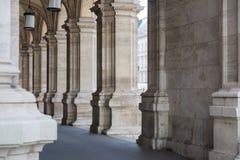 Arcada de piedra, Viena Fotografía de archivo libre de regalías