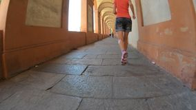 Arcada de San Luca Sanctuary vídeos de arquivo