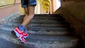 Arcada de San Luca Sanctuary video estoque
