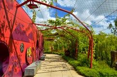 Arcada del jardín Fotografía de archivo
