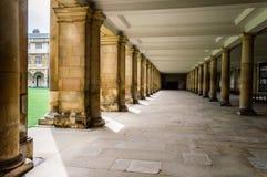 Arcada en el campus Fotografía de archivo libre de regalías