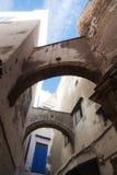 Arcada en Essaouira, Marruecos Fotos de archivo libres de regalías