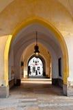 Arcada en Kraków Foto de archivo libre de regalías