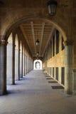 Arcada en Salamanca Foto de archivo libre de regalías