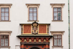 Arcada Hofburg en Heldenplatz en Viena imágenes de archivo libres de regalías