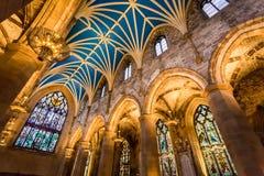 Arcada na catedral, Edimburgo Fotografia de Stock Royalty Free