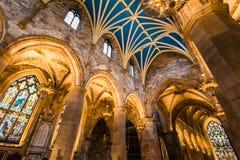 Arcada na catedral, Edimburgo Imagem de Stock Royalty Free