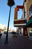 Arcada Theatre. This is a picture of the famous vaudeville Arcada Theatre in St. Charles, Illinois.  The theater was designed by Elmer F. behrns, is an example Royalty Free Stock Photography
