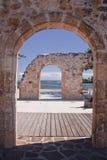 Arcada y ruinas Imagen de archivo libre de regalías