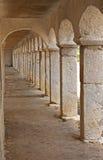 Arcadas de piedra fotos de archivo