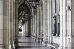 Arcadas em Viena fotos de stock royalty free