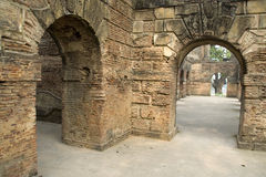 Arcadas en la implantación, Lucknow fotografía de archivo