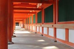Arcade à Nara, Japon Image libre de droits
