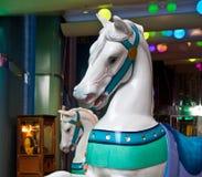 arcade άλογα ιπποδρομίων Στοκ Εικόνες