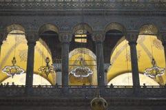 Arcade μέσα σε Hagia Sophia Στοκ Εικόνα
