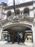 arcade Μπέρλινγκτον Λονδίνο Στοκ φωτογραφία με δικαίωμα ελεύθερης χρήσης