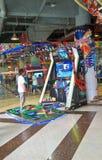 arcade παίξτε Στοκ φωτογραφία με δικαίωμα ελεύθερης χρήσης
