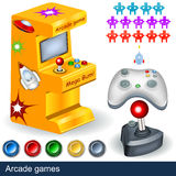 arcade παιχνίδια Στοκ φωτογραφία με δικαίωμα ελεύθερης χρήσης