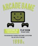 Arcade 80 παιχνίδι Στοκ Φωτογραφίες